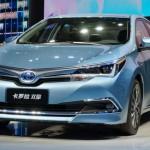 トヨタ「新型カローラ・ハイブリッド 中国モデル」発表;デザイン画像集
