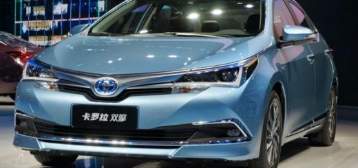 トヨタ カローラハイブリッド中国モデル2