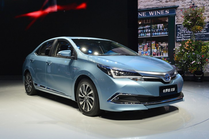 トヨタ カローラハイブリッド中国モデル1