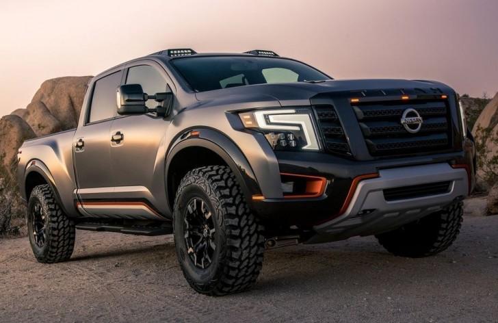 Nissan Titan Warrior Concept 2016 02