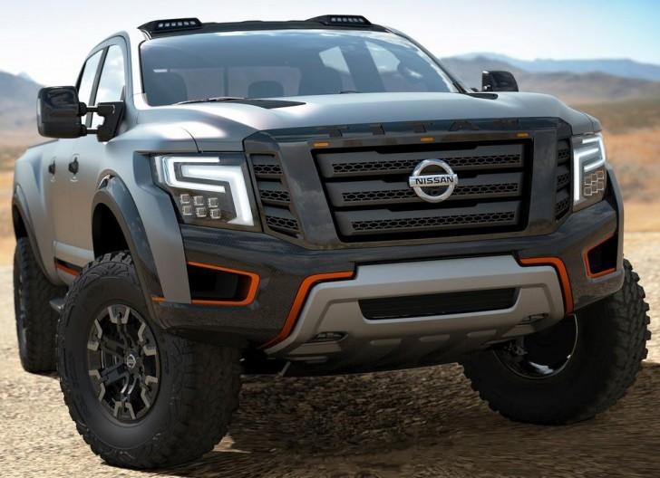 Nissan Titan Warrior Concept 2016 03