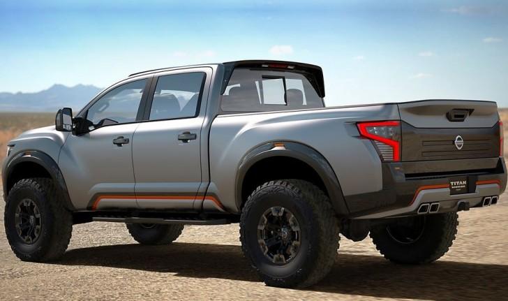 Nissan Titan Warrior Concept 2016 04