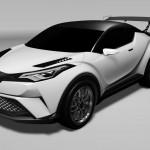 トヨタ「C-HR Racing」などニュル24時間耐久レース参加車両を発表;デザイン画像集