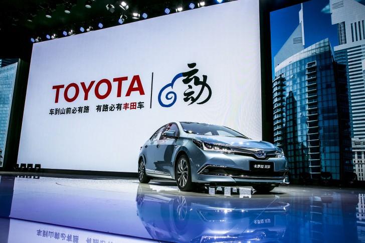 トヨタ カローラハイブリッド中国モデル0