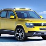 VW「新型タイグン・コンセプト2012」デザイン画像集