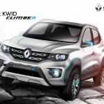 ルノー「新型KWID CLIMBER concept」発表;デザイン画像集