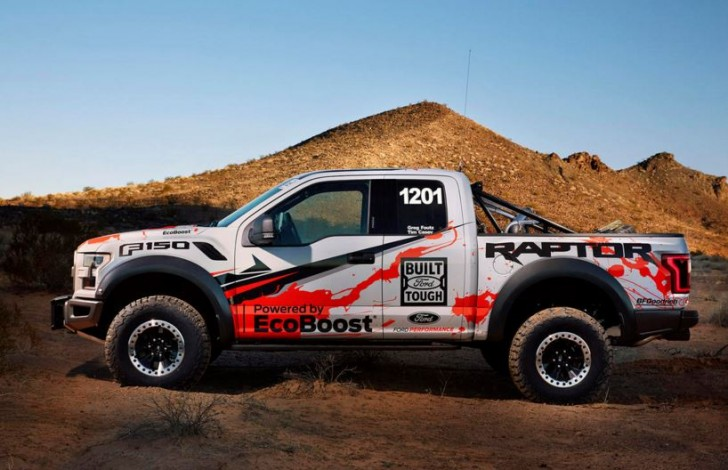 2017 F-150 Raptor offroad racing 06
