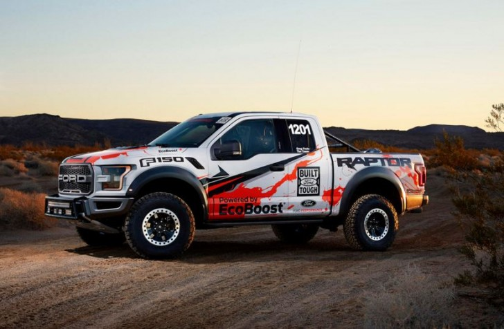 2017 F-150 Raptor offroad racing 07