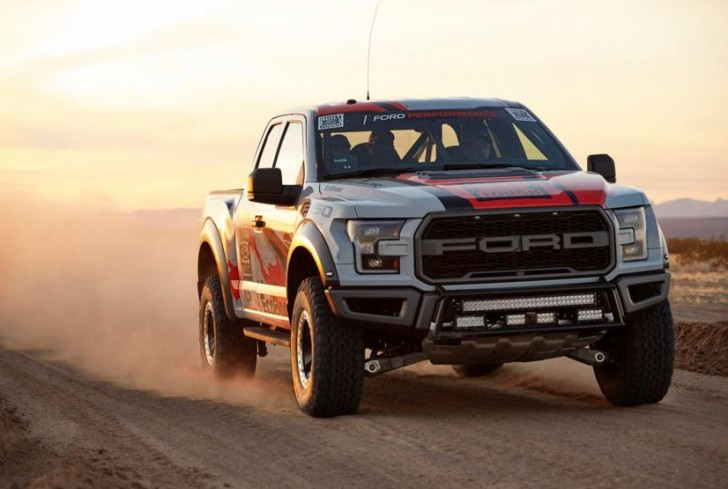 2017 F-150 Raptor offroad racing 14