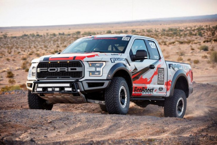 2017 F-150 Raptor offroad racing 15