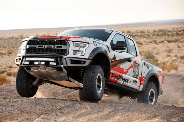 2017 F-150 Raptor offroad racing 16