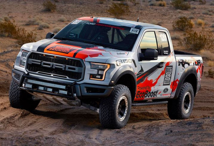 2017 F-150 Raptor offroad racing