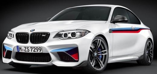 BMW M2 Coupe M Performance Parts 2016 01