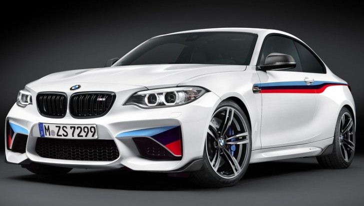 BMW M2 Coupe M Performance Parts 2016 01
