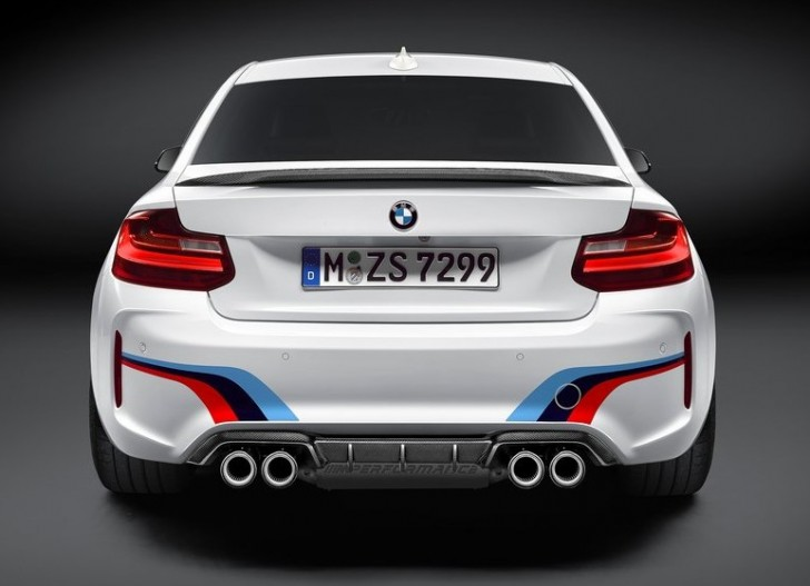 BMW M2 Coupe M Performance Parts 2016 05