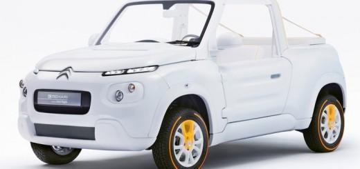 Citroen e-Mehari by Courreges Concept 2016 01