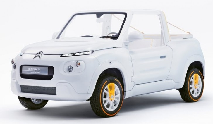Citroen e-Mehari by Courreges Concept 2016 01