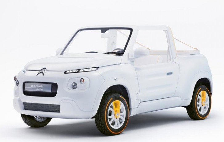 Citroen e-Mehari by Courreges Concept 2016 02