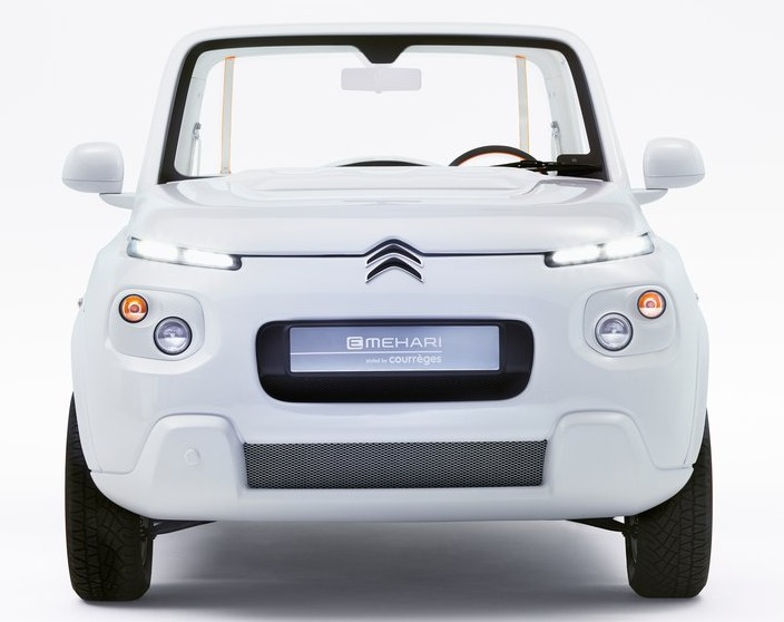 Citroen e-Mehari by Courreges Concept 2016 03