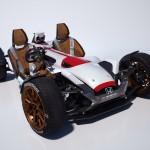 Honda「Project 2&4 powered by RC213V」2人乗り仕様;デザイン画像集