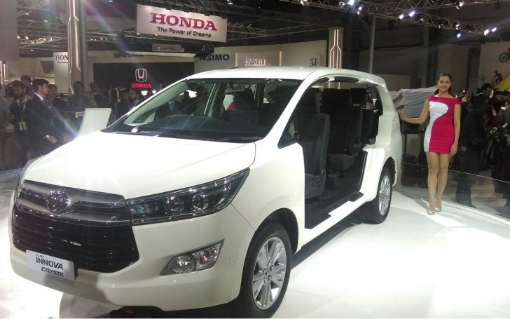INNOVA CRYSTA TOYOTA india 2016 03