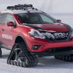Nissan Murano Winter Warrior Concept Drive