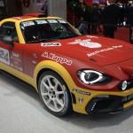 アバルト「124 rally」発表;実車デザイン画像集@ジュネーブ