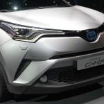 トヨタ「新型C-HR 2017」発表;実車デザイン画像集@ジュネーブ
