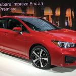 スバル「新型インプレッサ・セダン 2017」実車デザイン画像集