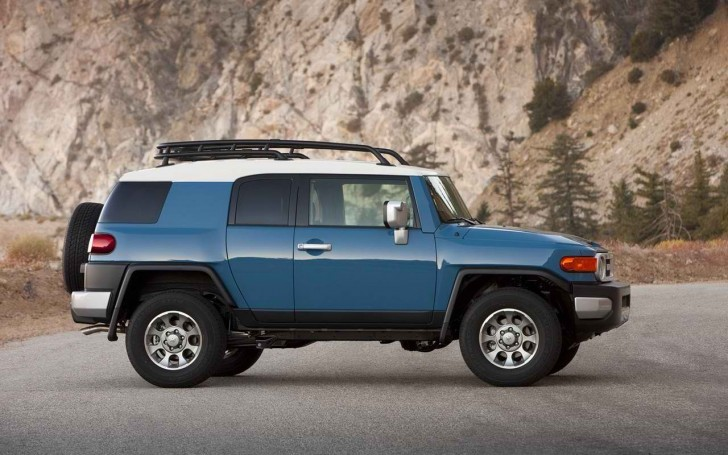 2017 Toyota FJ Cruiser Side Design Pictures