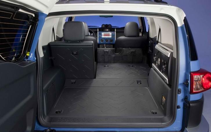 2017 Toyota FJ Cruiser Interior Cabin Pictures