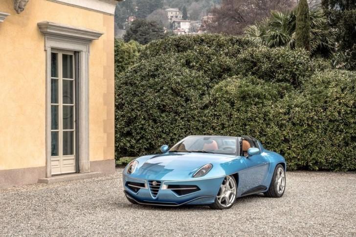 Alfa Romeo Disco Volante Spyder Touring 2016 02