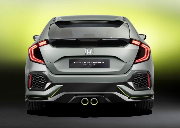Honda Civic Hatchback Concept 2016 05