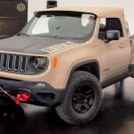Jeep「レネゲード」にピックアップコンセプト発表;デザイン画像集!