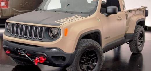 Jeep Renegade Comanche Pickup Concept 00