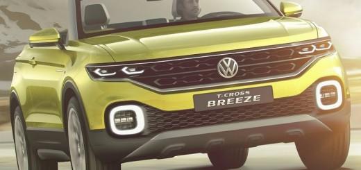 Volkswagen T-Cross Breeze Concept 2016 01