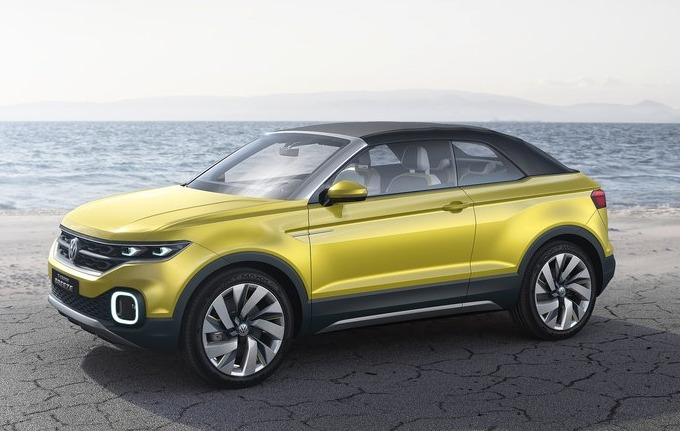 Volkswagen T-Cross Breeze Concept 2016 03