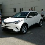 トヨタ「新型C-HR」市販モデルの生写真が流出!発売は今秋から前倒し?