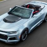 シボレー「新型カマロ ZL1 convertible」発表;デザイン画像集