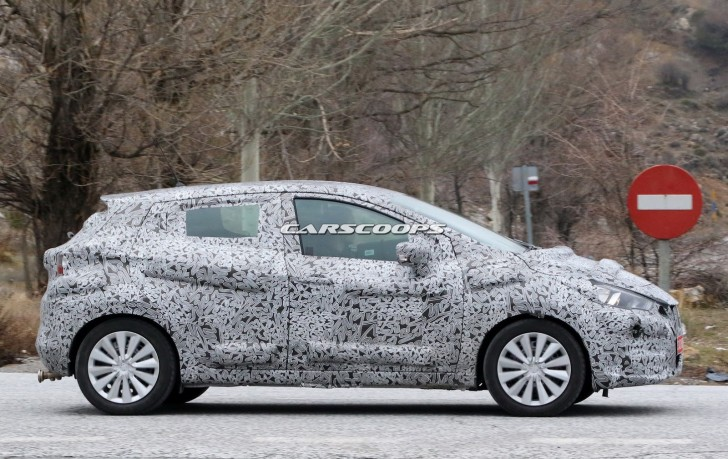nissan march 2017 spy 06