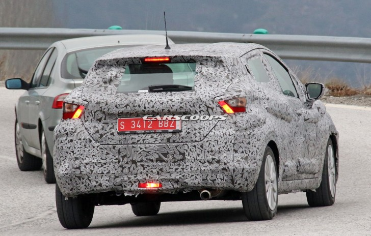 nissan march 2017 spy 08