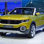 VW「T-cross Breeze concept 2016」発表;実車デザイン画像集!