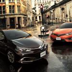 トヨタ「新型オーリス・ハイブリッド/1.2T RS」日本国内発表;デザイン画像集