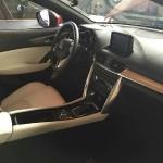 マツダ「新型CX-4」実車画像公開③:インテリア画像も完全判明!