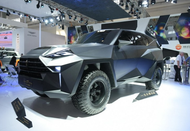 IAT Kalman Is A  1.9 Million Ford F Series Based SUV Out Of This World