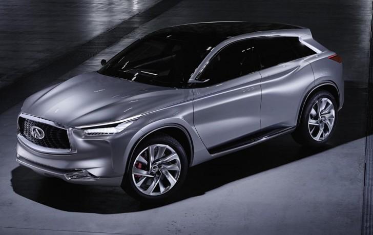 Infiniti QX Sport Inspiration concept foretells bold midsize SUV