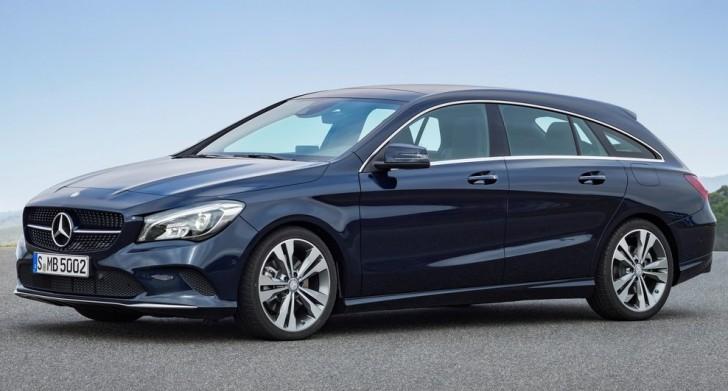 Mercedes-Benz CLA Shooting Brake (2017)1