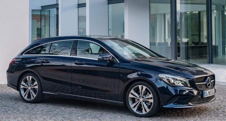 Mercedes-Benz CLA Shooting Brake (2017)3