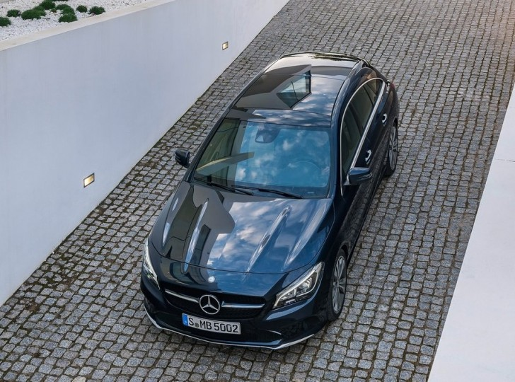 Mercedes-Benz CLA Shooting Brake (2017)6