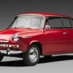 シュコダ「1000 MBX 1966」デザイン画像集